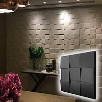 """Форма для 3D панелей """"Рубик"""" 500*500 мм. АБС пластиковая форма для 3Д панели"""