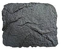 """Резиновый штамп """"Скала малая"""" для оттиска на свежем цементе или штукатурке. Имитация камня."""