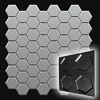 """Форма """"Стоун №2"""" для шестигранною декоративної гіпсової плитки (форма для 3д панелей з абс пластику)"""