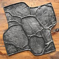 """Резиновый штамп """"Садовый камень Галька"""" пресс-форма для печатного бетона"""
