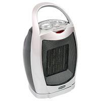 Тепловентилятор Rotex RAP09-H-O 750-1500 Вт. Площа до 25 м2. Термостат. Захист від морозу. Відключення при перегріві. Габарити (ВхШхГ): 19х13х26 см
