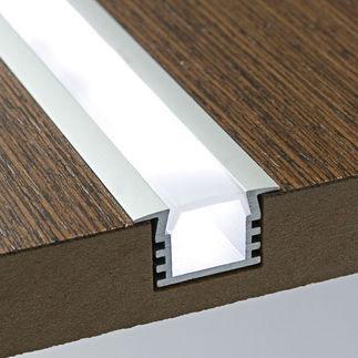 LED профіль врізний (вбудований)