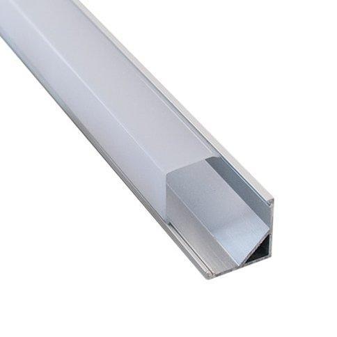 LED профиль угловой