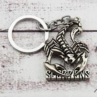 Брелок ФСА 6005 Scorpions логотип