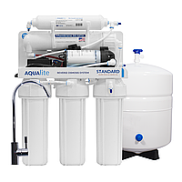 Система зворотного осмоса Aqualite Standard ST5-50P (с насосом)