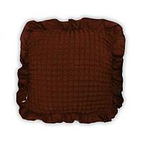 Подушка декоративная Love You - (9) шоколад 45*45