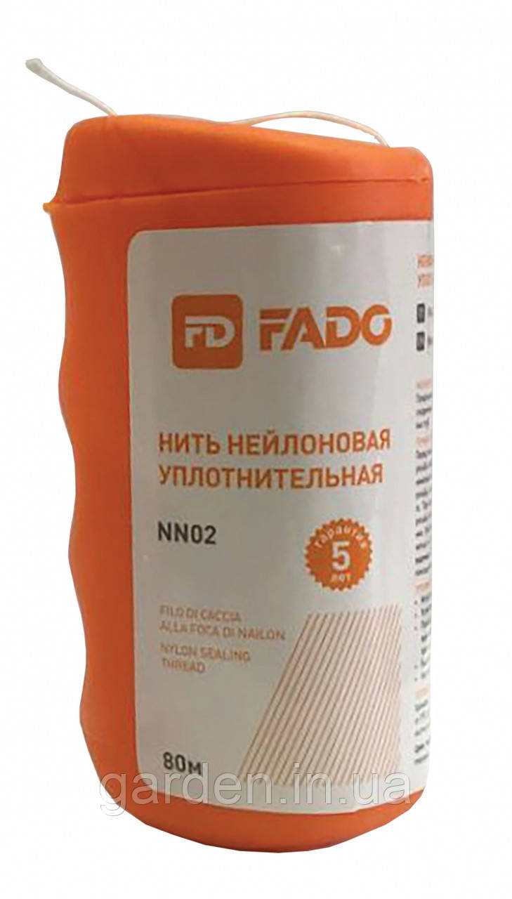 Нитка нейлонова ущільнювальна Fado 80м