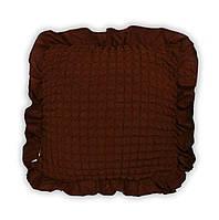 Подушка декоративная Love You - (38) черный шоколад 45*45