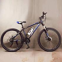 Гірський велосипед S300 BLAST-NEW чорно синій 26 дюймів
