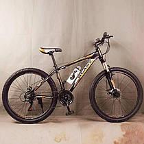 Гірський велосипед S300 BLAST-NEW чорно помаранчевий 26 дюймів