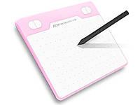 Графический планшет USB T503 8192 уровня  Розовый
