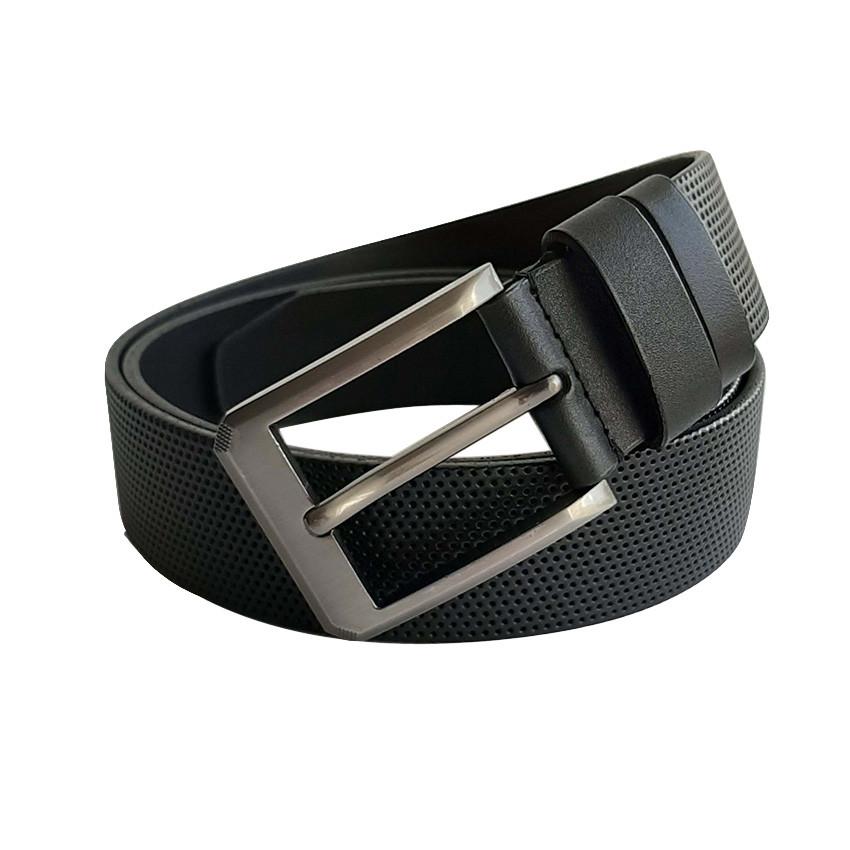 Ремень кожаный для мужчин Sport Line - №5813