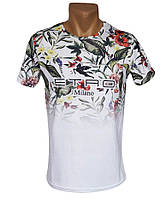 Мужская футболка Etro Milano  - №4345