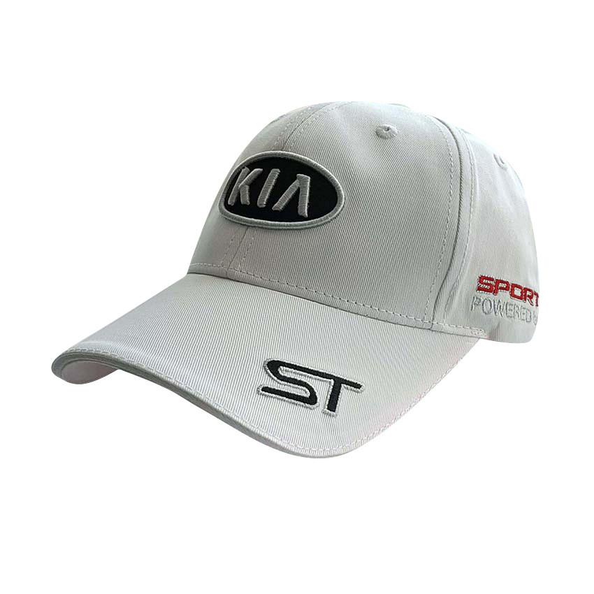Бейсболка с логотипом авто Kia Sport Line - №5798