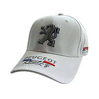 Кепка с логотипом авто Peugeot Sport Line - №5796