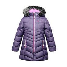 Зимнее пальто для девочки NANO F16M1252 Black