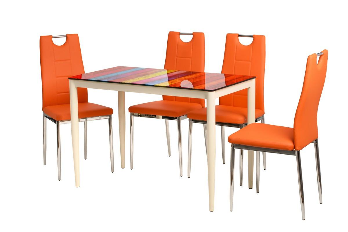 Обеденный стол Т-300-11 полоска