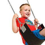 Гойдалка подвійна на гнучких підвісах для дитячих ігрових майданчиків KidSport, фото 5