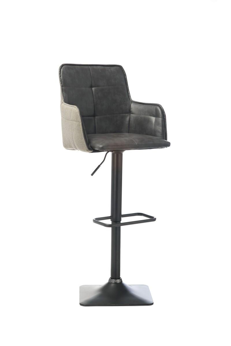 Барный стул В-98 серый⠀