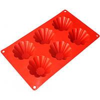 Форма для выпекания кексов на 6 шт фигурная