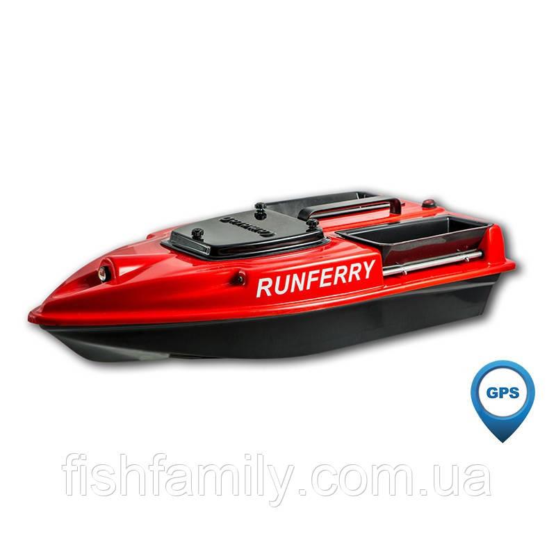 Кораблик для доставки прикормки Camarad с GPS автопилотом