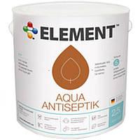 Антисептик Element Aqua махагон 2.5 л