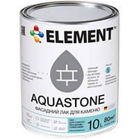 Лак Element Aquastone для камня глянцевый 10 л