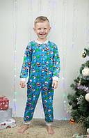 Комбинезон-пижама для мальчиков начес, фото 1