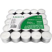 Набор свечей Bispol pf10-50 чайная 50 шт
