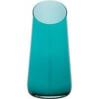 Ваза Wrzesniak Glassworks Maestro сине-зеленая
