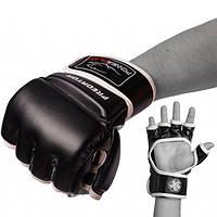 Рукавички для Mma PowerPlay 3056 Чорні S SKL24-143778