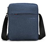 Чоловіча сумка-месенджер Високоякісна водонепроникна сумка на плече для жінок і чоловіків, фото 4