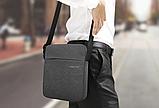 Чоловіча сумка-месенджер Високоякісна водонепроникна сумка на плече для жінок і чоловіків, фото 8
