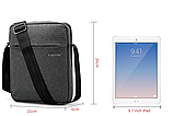 Мужская сумка-мессенджер Высококачественная водонепроницаемая сумка на плечо для женщин и мужчин, фото 6