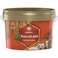 Лак Eskaro Saunalakk полуматовый 0.95 л