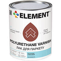 Лак Element Паркетный полуматовый 0.6 кг