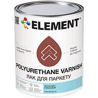 Лак Element Паркетный полуматовый 3.8 кг