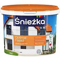 Краска Sniezka Optimal Fasad 14 кг