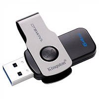 Флеш-накопитель USB3.1 64GB Kingston DataTraveler Swivl Black (DTSWIVL/64GB)