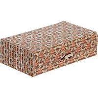 Сундук для украшений Орнамент бамбук 18x10.5 см