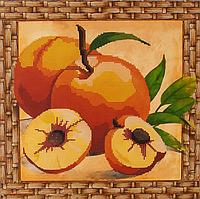 Схема для вышивки бисером Персики