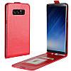 Чехол IETP для Samsung Galaxy Note 8 / N950 флип вертикальный кожа PU красный