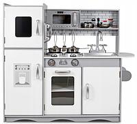 Деревянная кухня Sapphire Kids SK-06 c металлическими аксессуарами