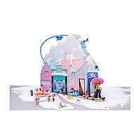 """L.O.L. SURPRISE! Оригинал Игровой меганабор с куклами серии """"Winter Disco"""" - Зимний особняк (Кукла Л"""