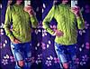 Теплый вязаный свитер Турция (цвета), фото 3