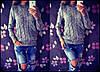 Теплый вязаный свитер Турция (цвета), фото 4