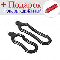 Крепежное резиновое кольцо для велосипедной фары  Черный