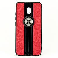 Чехол X-Line для Xiaomi Redmi 8A бампер накладка с подставкой Red, фото 1