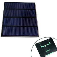 Солнечная панель батарея 12В 1.5Вт мини 115x85мм
