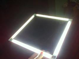 """Светодиодный светильник """"Квадрат"""" вместо светильника """"Армстронг"""". LED освещение. Профессиональное освещение."""
